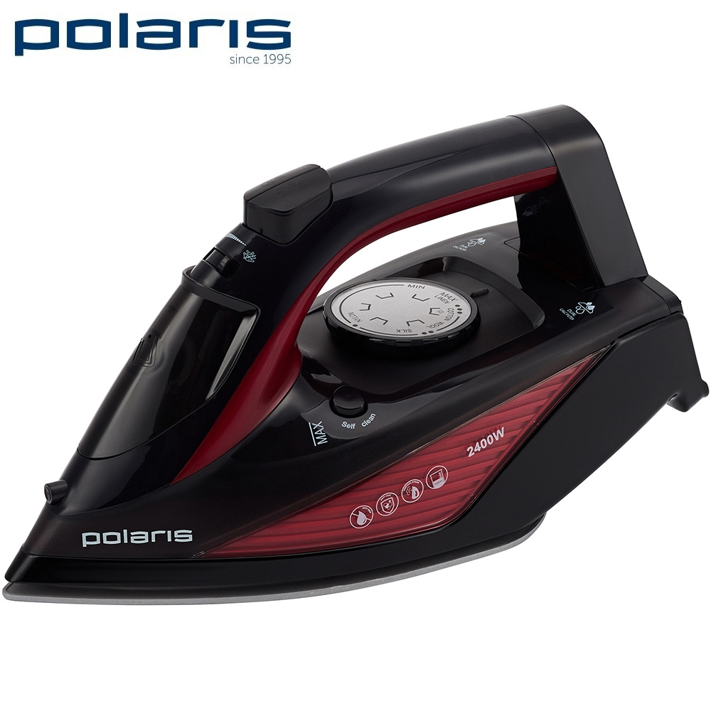 Iron Polaris PIR 2455 K Iron for ironing Mini iron steam iron Steam generator for clothing Irons Electric steamgenerator Small 907 constant temperature electric soldering iron lead free 60w