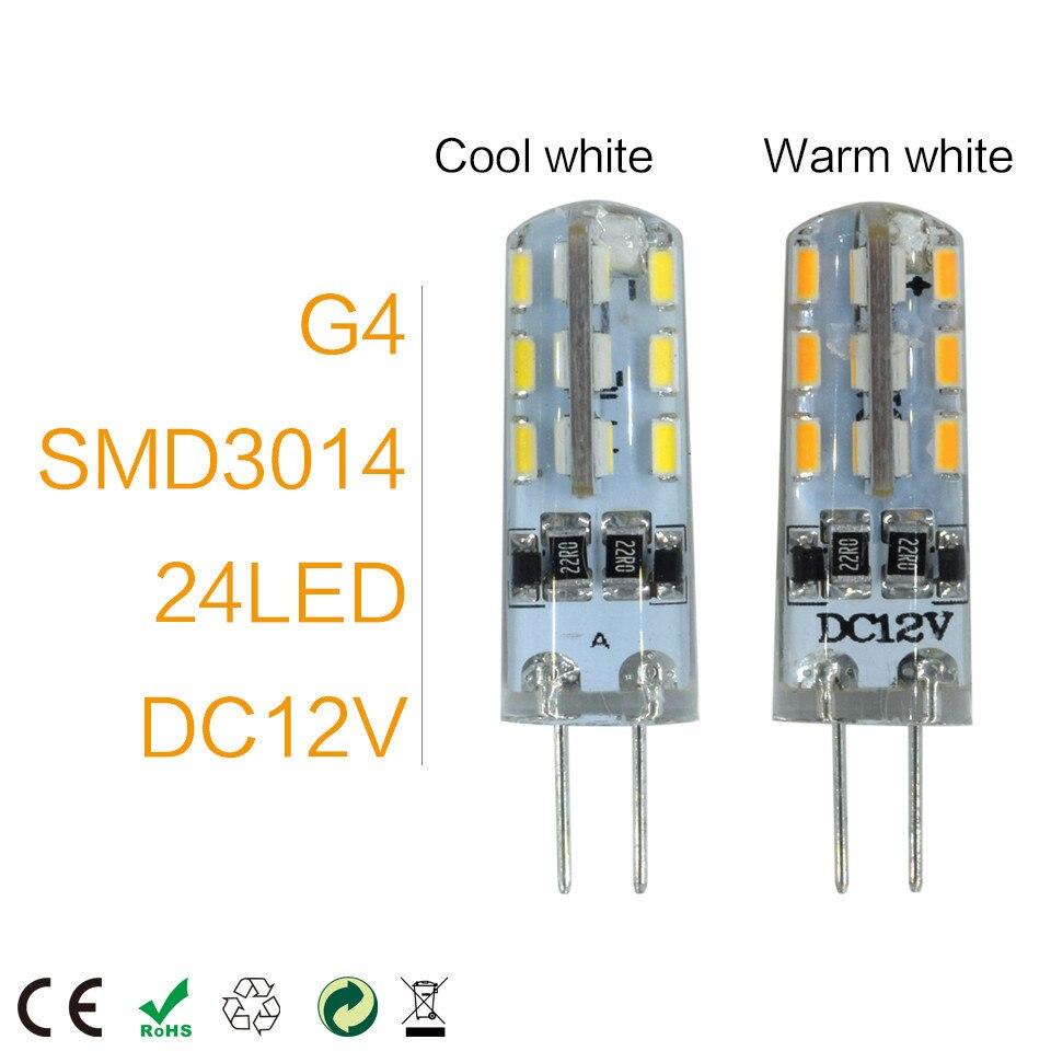LKLTFX 1 шт. / Лот Новый G4 Светодиодная Лампа 3 Вт Высокая Мощность SMD2835 3014 DC 12 В AC 220 В