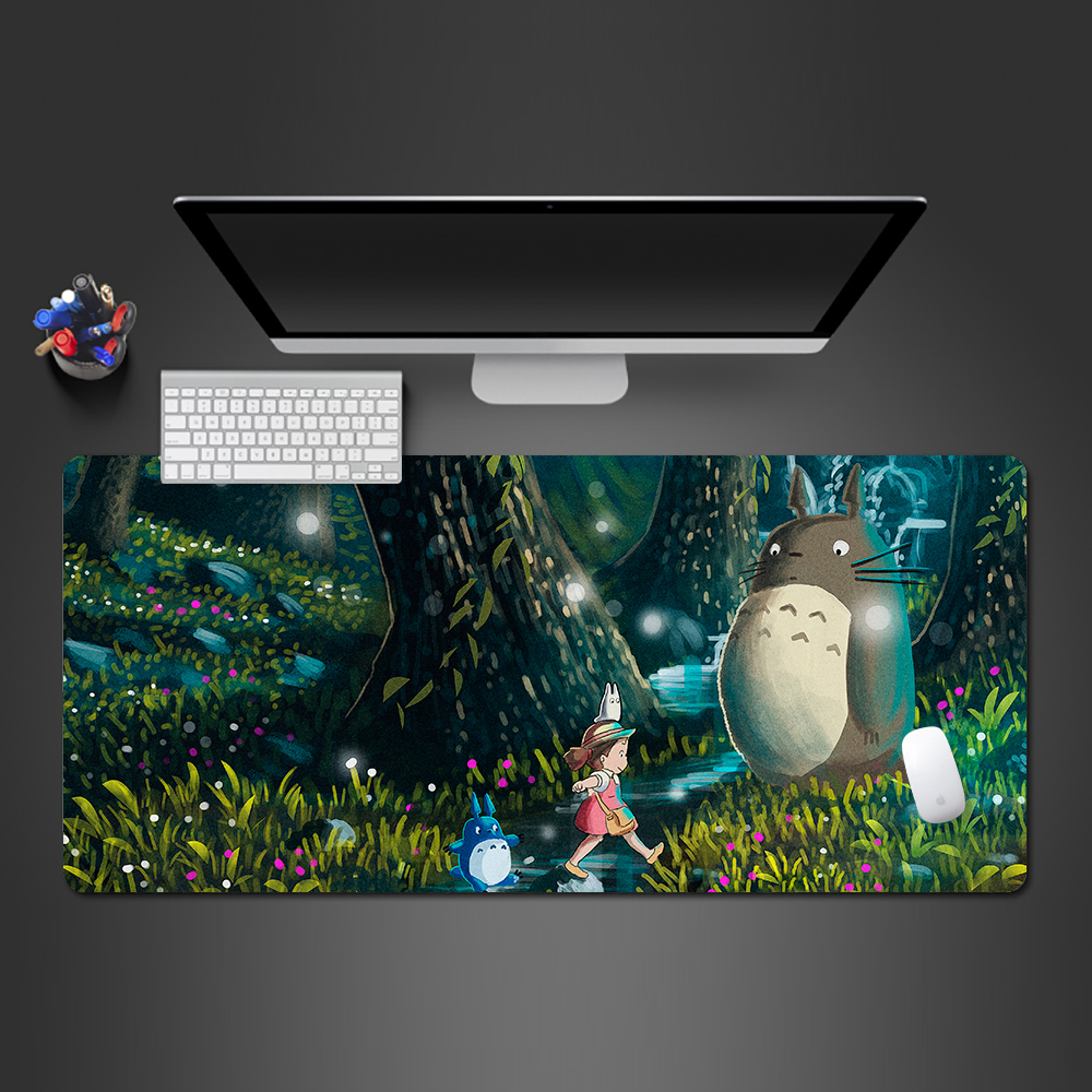 Provided Hhd-gj New Anti-slip Pc My Neighbour Totoro Anime Umbrellas Silicon Mouse Pad Mat Mice Pad For Optical Free Shipping Computer Peripherals