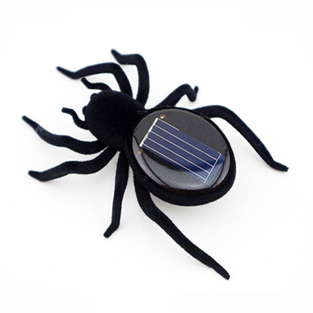 Neuheit Kreative Gadget Solar Power Roboter Insekt Auto Spinne Für ...