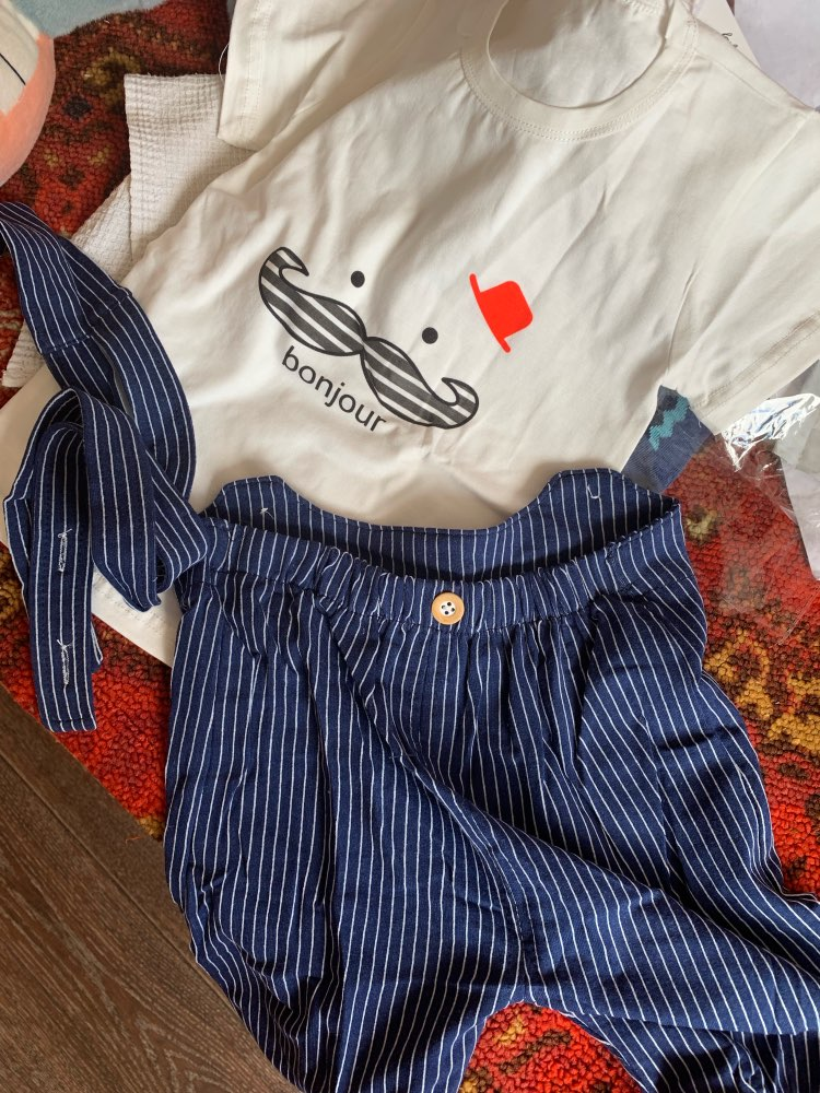 Baby Boy's Summer Cotton Clothing Set photo review