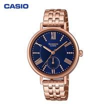 Наручные часы Casio SHE-3066PG-2AUEF женские кварцевые на браслете