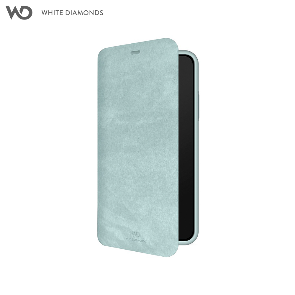 Case-Book White Diamonds Promise Booklet for iPhone XR color sky blue stylish flip open pu leather case w card slot holder for htc one max t6 sky blue