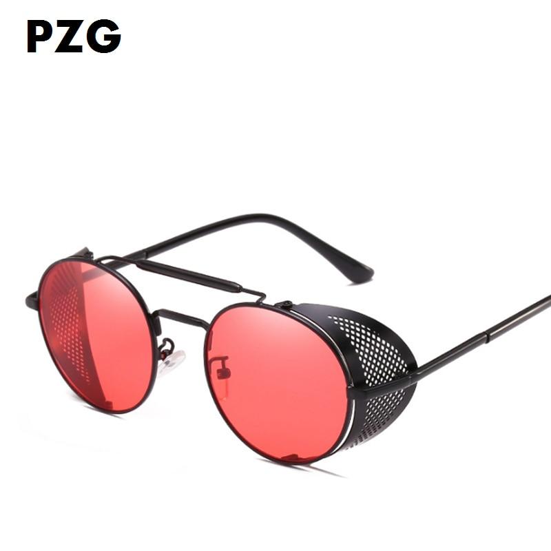 PZG Yeni moda Pank gözlükləri kişilərin gözlüklərini - Geyim aksesuarları - Fotoqrafiya 3
