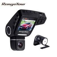 Range Tour Dashboard Auto Car DVR Dash Camera support Rear Dash Cam Full HD 1080P G Sensor 2.0 Inch LCD Video Recroder Camcorder