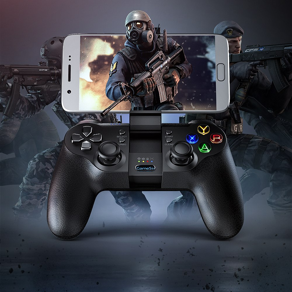 GameSir T1s Moba Controller,Rules of survival Controller Gamepad Bluetooth 2.4GHz Wired Joystick PC for SONY Playstation 3 MCUGameSir T1s Moba Controller,Rules of survival Controller Gamepad Bluetooth 2.4GHz Wired Joystick PC for SONY Playstation 3 MCU