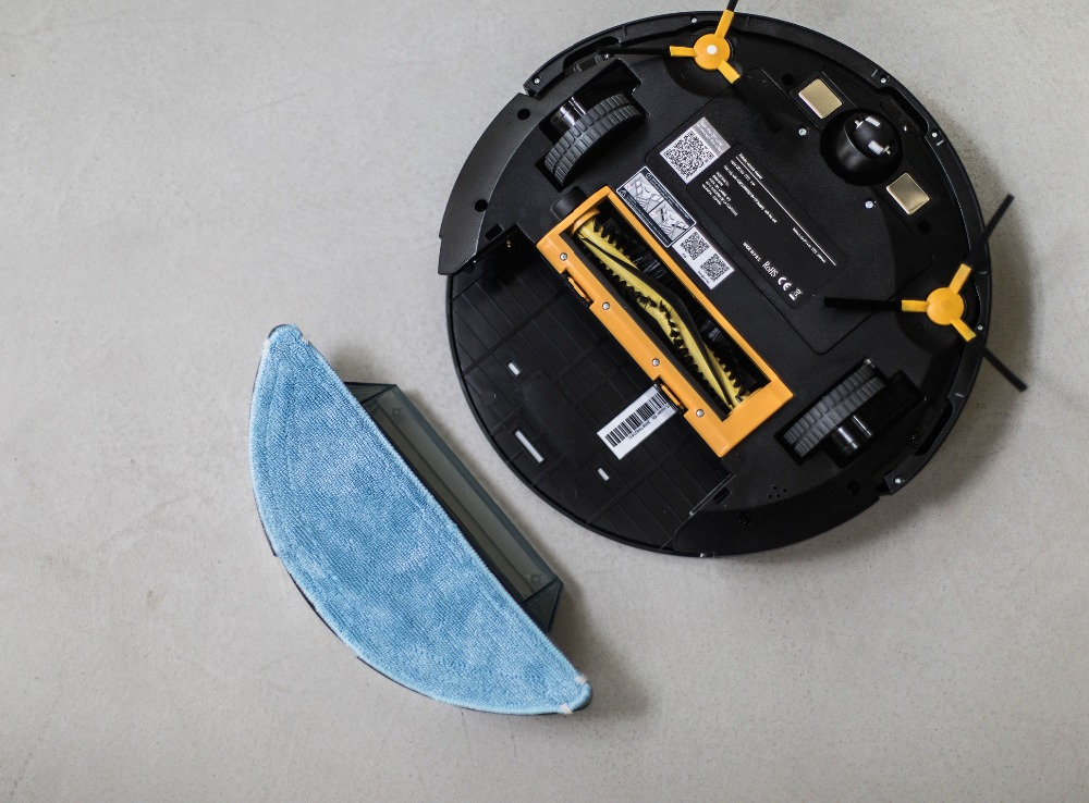 IKOHS NETBOT S15 Robô Inteligente Aspirador Aspirador de pó Preto Professional APP Casa Inteligente Sem Fio - 3