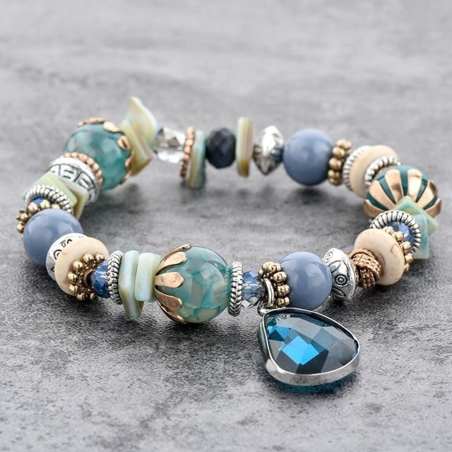 chicvie голубые браслеты из нержавеющей стали для самостоятельного фотография