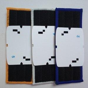 Image 3 - 9 stks robot cleaner borstels onderdelen 3 * Nat Pad Mop + 3 * Vochtige Pad Mop + 3 * Droog Pad Mop voor Vervanging iRobot Braava Jet 240 241