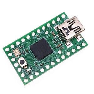 Новый Электрический Teensy 2, 0 USB AVR макетная плата для Arduno ISP ATMEGA32U4 модуль