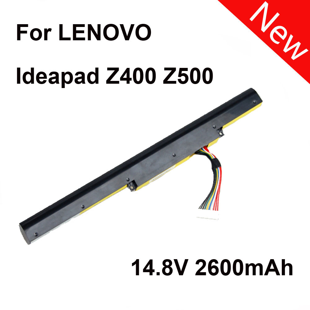 New Laptop Battery For LENOVO Erazer Z400 Z400A Ideapad Z400A-ITH Z500 Z510 P400 P500 2600mAh 14.8V SZ laptop batteries for lenovo ideapad u350 20028 l09n8p01 l09c4p1 14 8v 8 cell