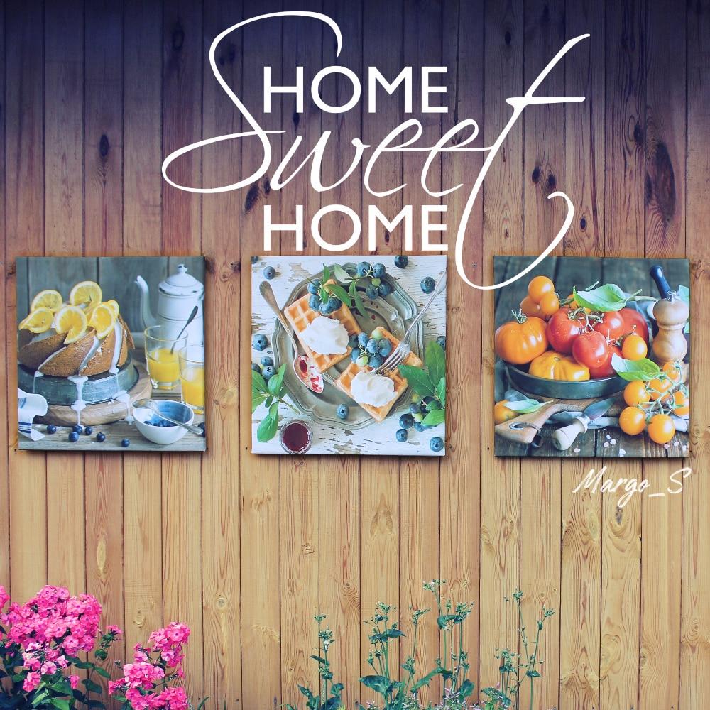 Набор из 3х картин-постеров для интерьера с Алиэкспресс