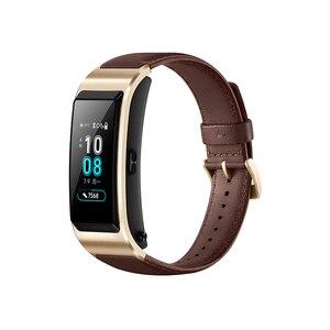 Image 5 - Original Huawei TalkBand B5 Bracelet de conversation B5 Bluetooth Bracelet intelligent bracelets de sport tactile AMOLED écran appel écouteur bande