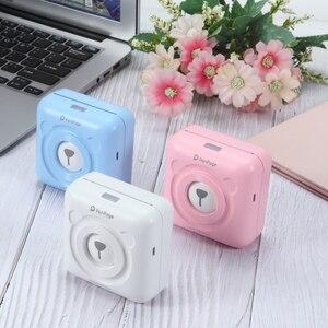 Mini Pocket Photo Printer Mobile phone Photo Printer Portable Handheld Printer(China)
