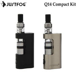 Original Justfog Q14 Compact Kit 와 900 미리암페르하우어 내장 Compact 배터리 Q14 Clearomizer Justfog Q14 e 담배 Starter Kit