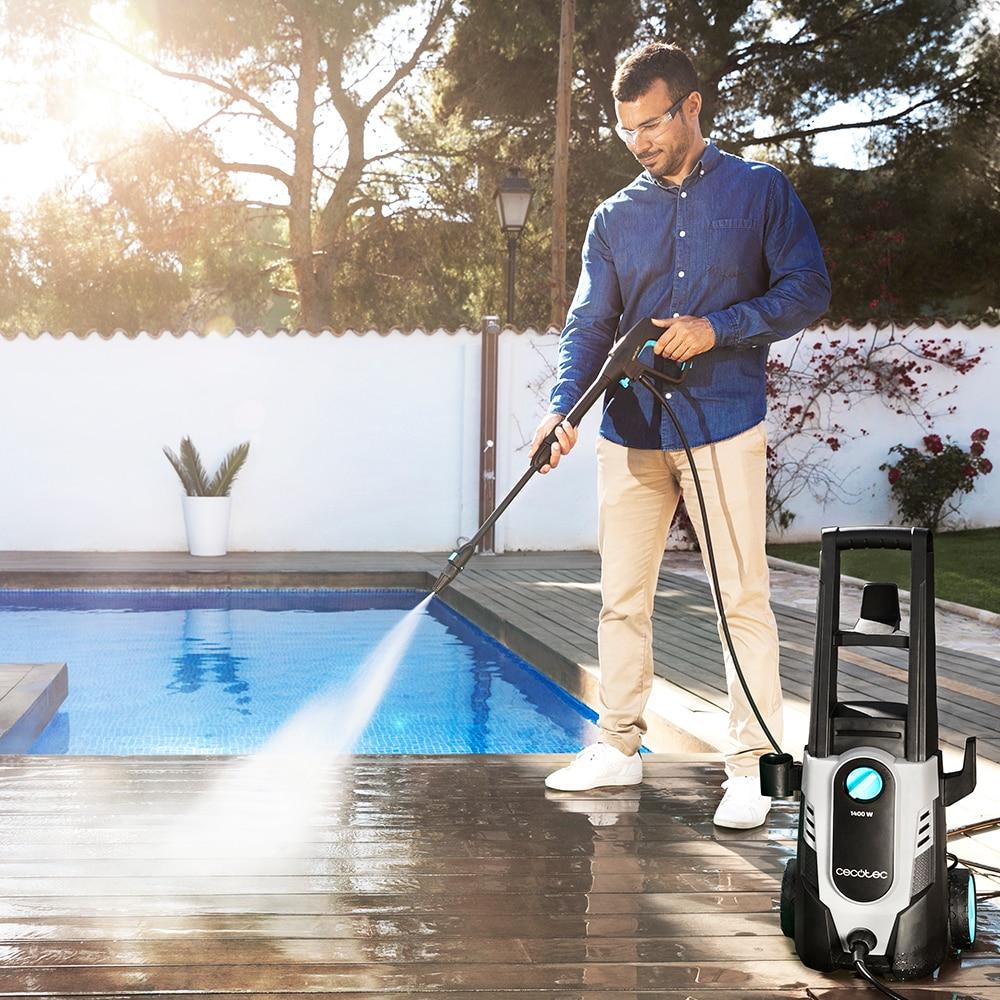 Cecotec laveuse HidroBoost 1400- 1400 EasyMove - 1600- 1800-3200, puissante et portable. Pistolet À eau Rondelle