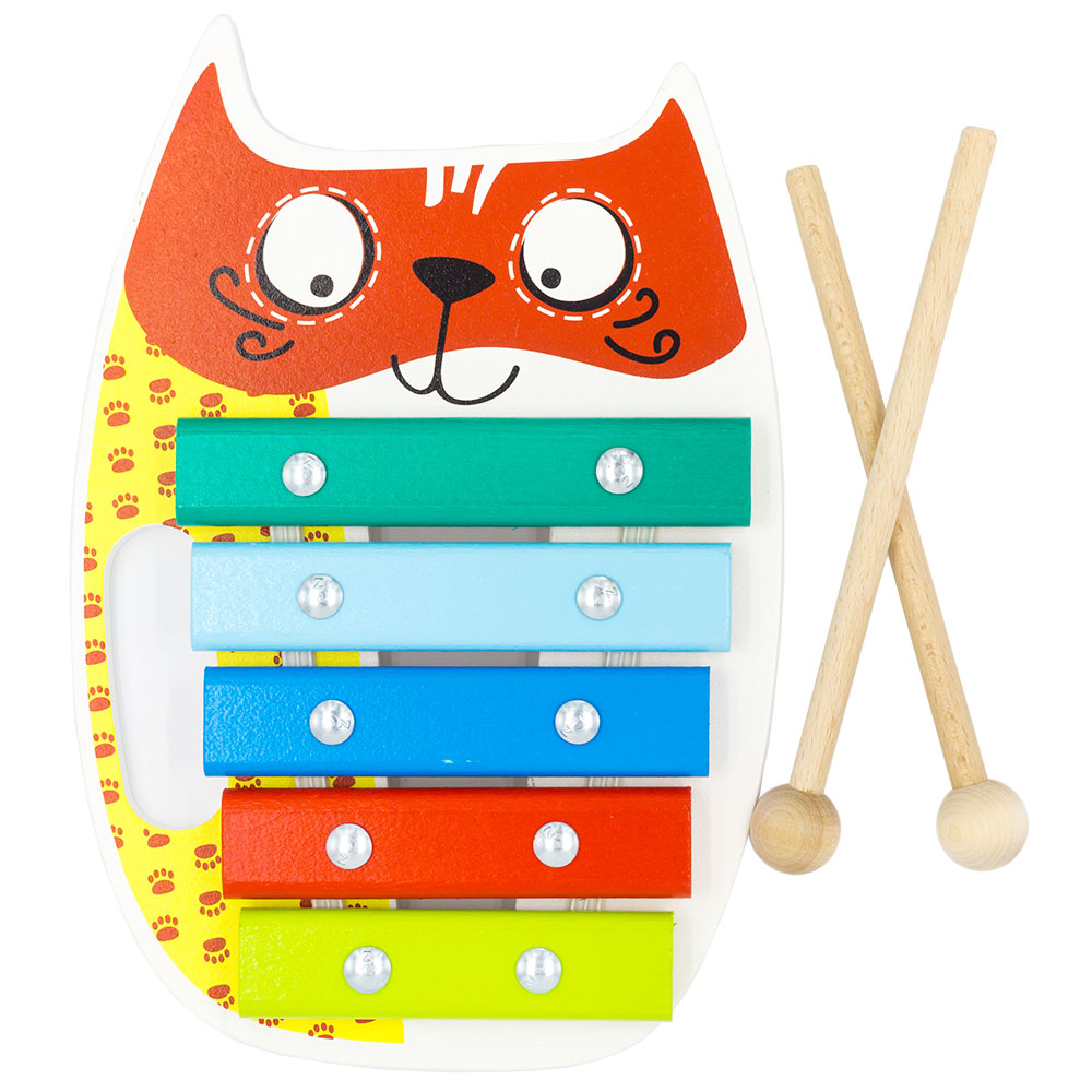 Toy Musical Instrument Alatoys KC0501 play glockenspiel xylophone music toys for boys girls sassy seat doorway jumper 5 toys with musical play mat