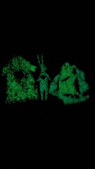 Светящиеся в темноте 10 г световой вечерние DIY яркие Серебристые песок Краски звезда Желая бутылки флуоресцентные частицы подарок для детей