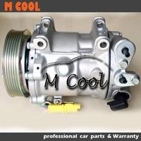 New AC Compressor For PEUGEOT 407 For CITROEN C5 9660555280 9683003080 9648138680 9648238480 648702 6453PN 6453PQ