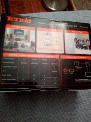 Tenda PH3 1000 Мбит Powerline сетевой адаптер, AV1000 Ethernet PLC Адаптер, 1 пара маршрутизатор Партнер, IPTV, homePlug AV2, ЕС/США Plug