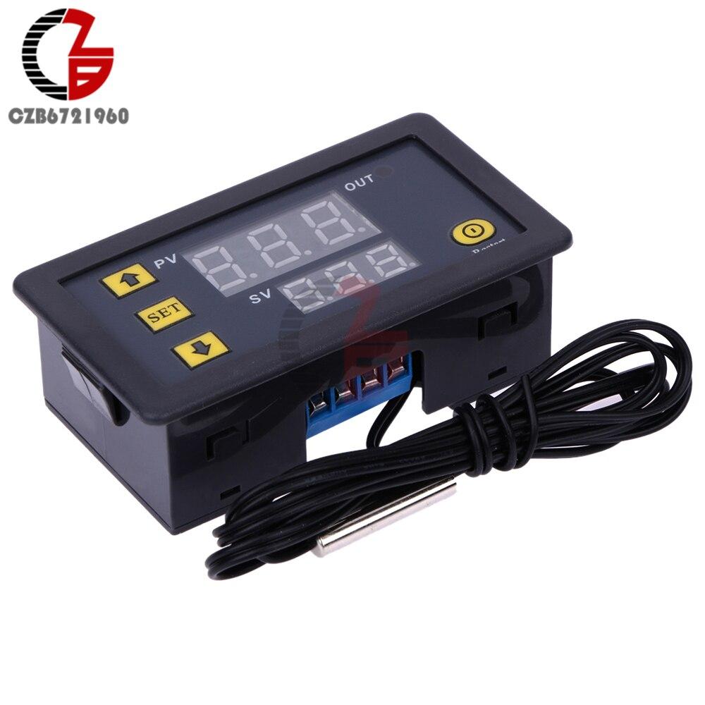 UTB876PHA8ahduJk43Jaq6zM8FXat DC 12V 24V 110V 220V AC 20A LED Digital Temperature Controller Thermostat Thermometer Temperature Control Switch Sensor Meter