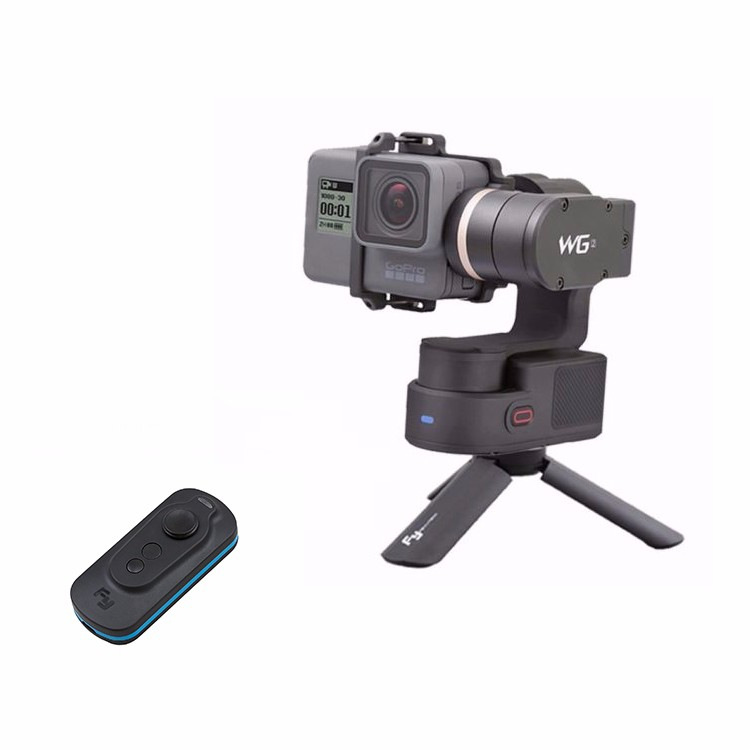 Feiyu Tech FY WG2 3-Axis Waterproof Handheld Video Stabilizer Digital Compact Camera Holder Motion Steadicam For GoPro Hero5 4 feiyu tech fy wg wearable gimbal camera mount stabilizer for gopro 3 gopro 4 yi cam aee camera
