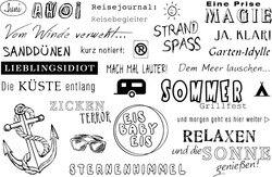 Deutsch Wort Transparent Klar Silikon Stempel/Dichtung für DIY scrapbooking/fotoalbum Dekorative klare stempel A159