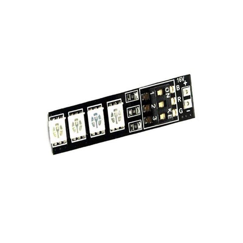 Hot New Matek RGB 5050 LED Lamp Panel 16V 4S Lipo 7 Colors