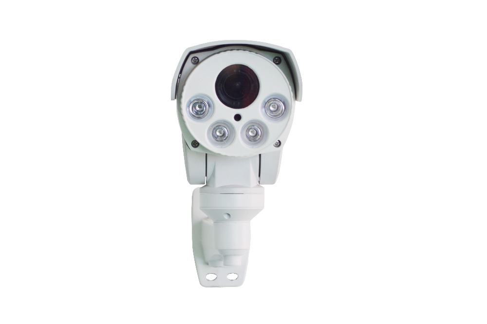 2mp 4X Optical zoom IP CCTV security camera with POE, Alarm audio