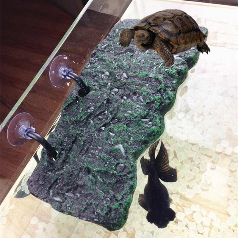 Turtle Platform Toy Floating Island Pu Foam Aquarium Float Decoration Bask Crawler Sun Roof Terrace Climb Brazilian Tortoise