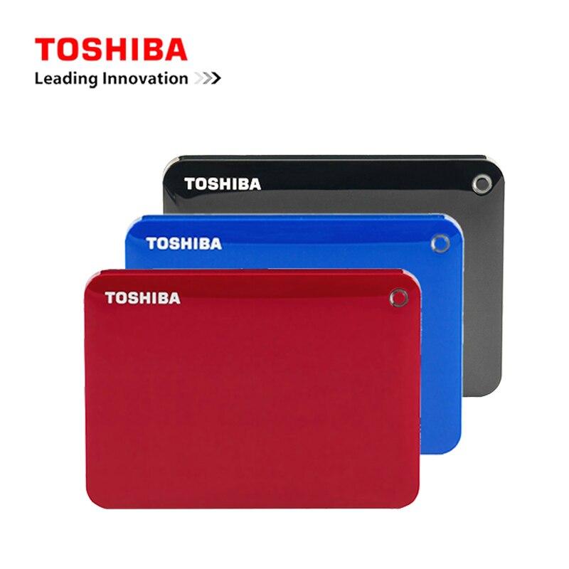 Toshiba Canvio Connectii 2,5 tragbare 1 Tb Hdd Externe Festplatte 1 Tb Hd Festplatte Usb 3.0 Für Desktop /laptop Computer Pc/mac Weder Zu Hart Noch Zu Weich Externe Festplatten