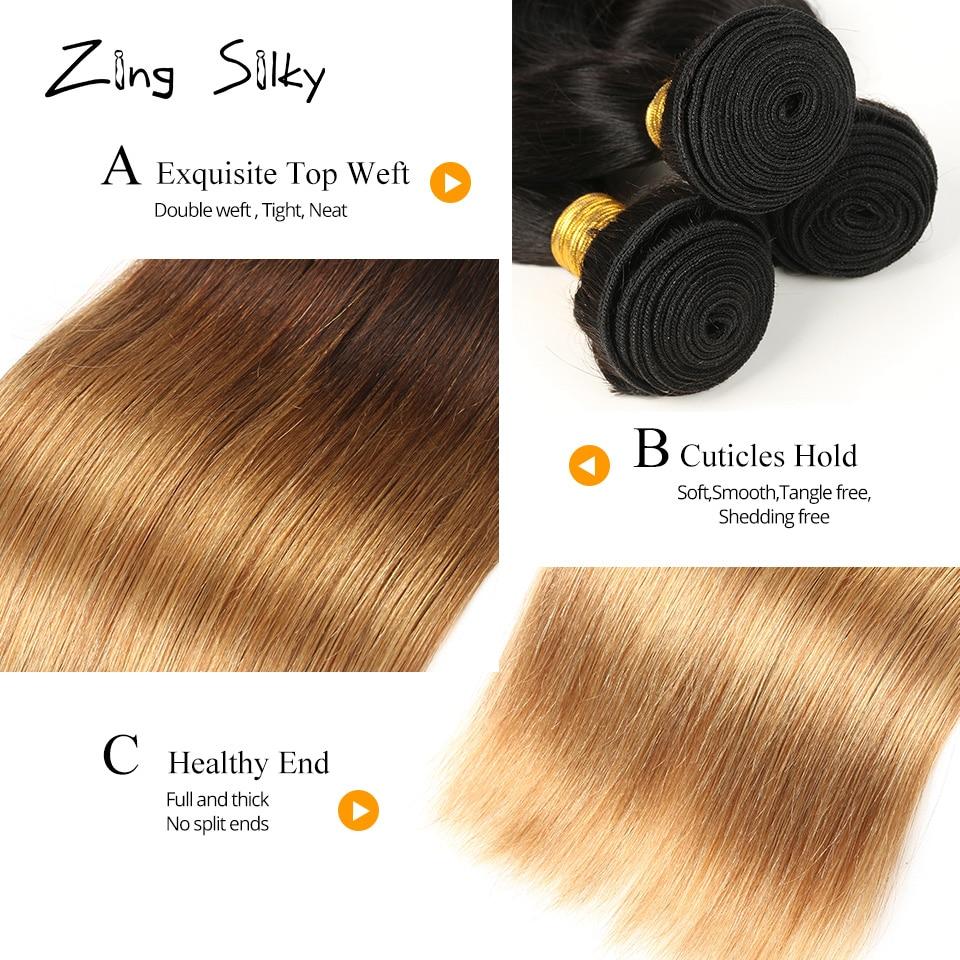 Βραζιλιάνοι Straight Hair Weave Ανθρώπινοι Hai 3 - Ομορφιά και υγεία - Φωτογραφία 5