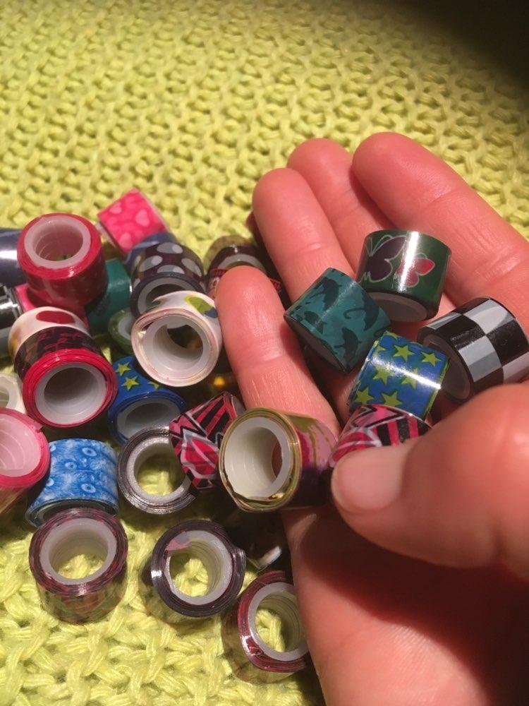 Васи ленты; открытый водонепроницаемый ящик; цветной карандаш;