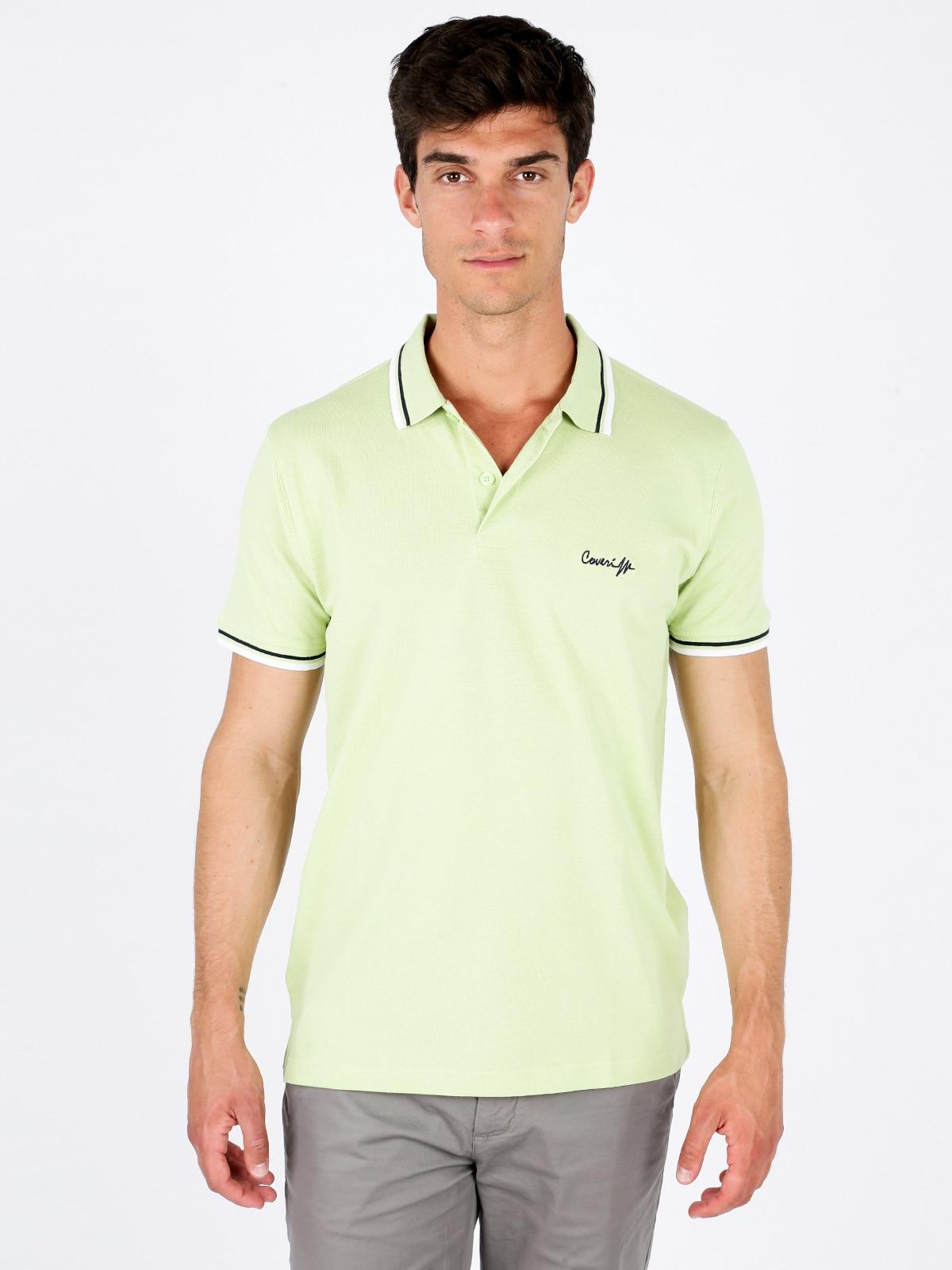 Cotton   Polo   shirt half sleeves