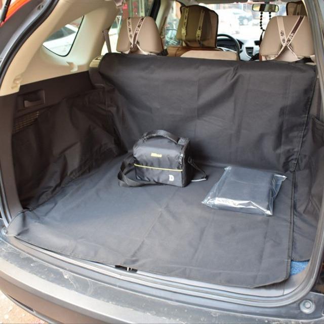 Fast Shipping Dog Car Seat Cover Black Pet Car Mat Waterproof Oxford Cloth Car Trunk Pet Mat Suv Mat For Dog Cats Pet Carrier
