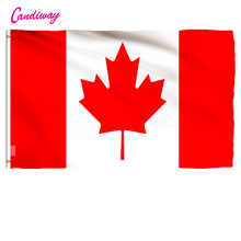 Banner Flag-Country Canada Christmas's Outdoor Red 90x150cm-Maple-Leaf Gifts 3x5'-Feet