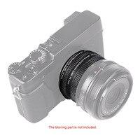 Viltrox DG-FU Auto Focus AF Macro Extension Tube Ring 10mm 16mm Set Metal Mount for Fujifilm X Mount Macro Lens DSLR Camera