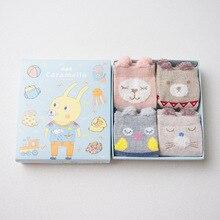 Комплект детских носков 4 пары «кролик»