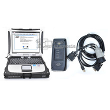 Pour adaptateur de Communication ET III comm 3 outil de diagnostic avec interface de diagnostic ET3 + logiciel catsis + logiciel Flash + ordinateur portable t420