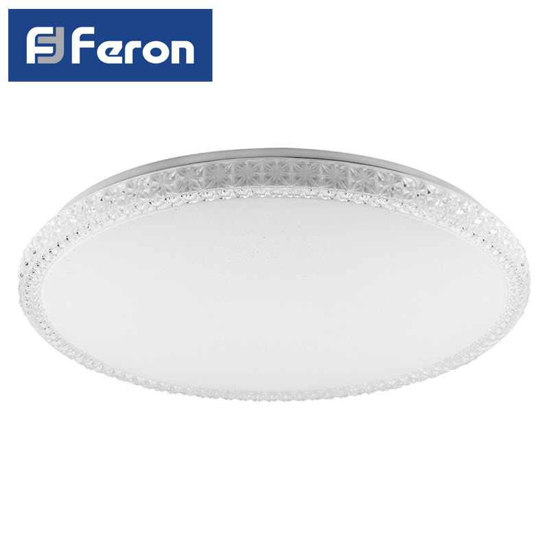 Led Controlled Lamp Patch Feron AL5300 Plate 60W 3000 K-6500 K White 440х77 BRILLANT