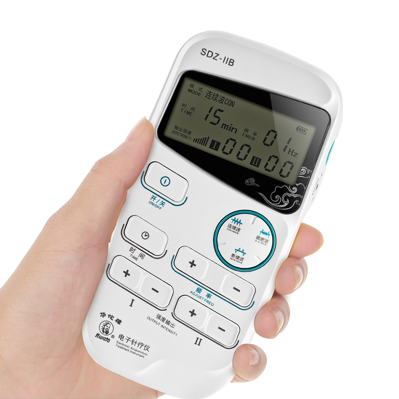 Hwato Electronic Acupunture Treatment Instrument Sdz-Ii Healthcare 2 Outputs Automatic Timing Treatment Intead Of Manual Massage цена