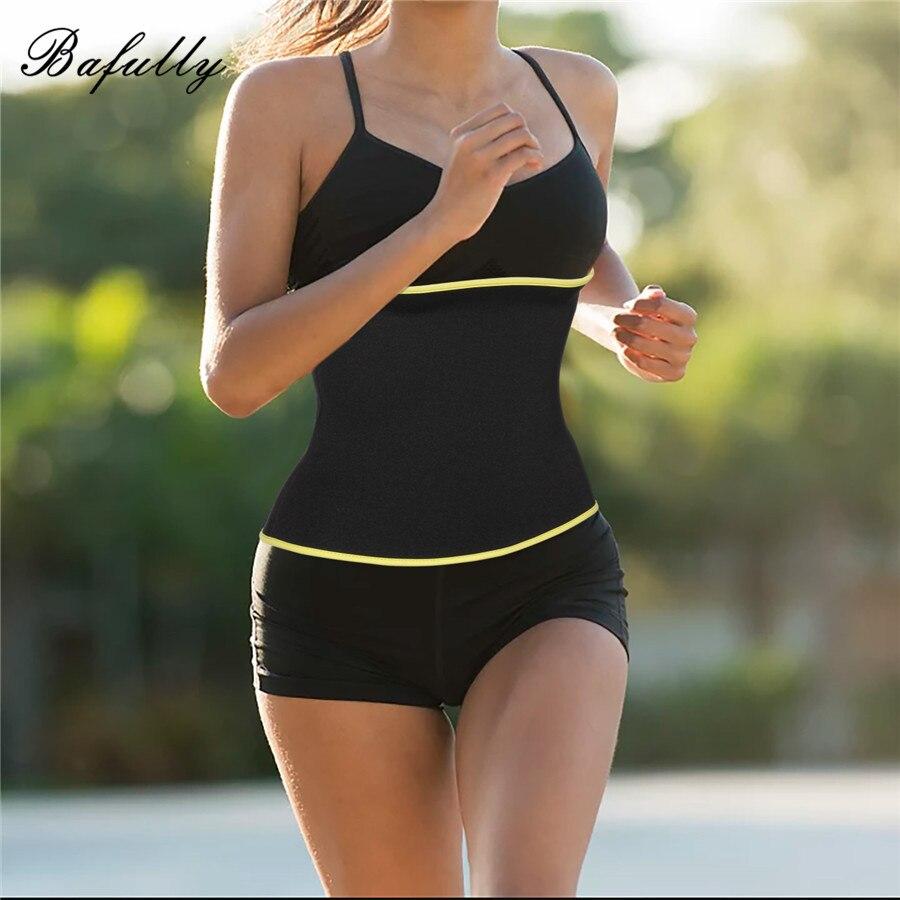 6d4833788e8 Bafully Seamless Modeling Strap Women Waist Trainer Body Shaper Corset  Slimming Underwear Shapewear Neoprene Sauna Sweat Belt -in Waist Cinchers  from ...