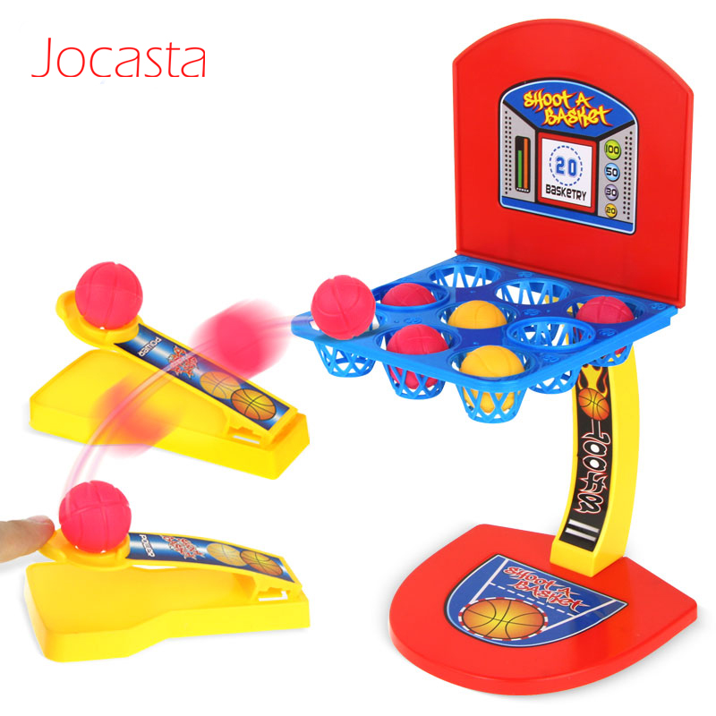 Multicolour Sports Toys Mini Desktop Basketball Hoop Shooting Stand Toy Kids Family Game Gift Educational Toys For Children [
