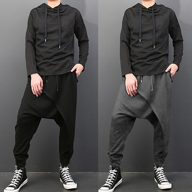 Incerun homens calças de cintura elástica calças
