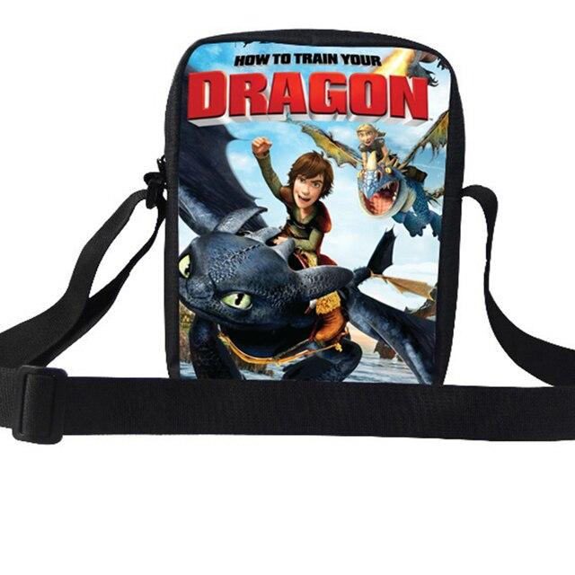 Hot Children Shoulder Bag Boy Girls Mini Cartoon Messenger Bag How to Train  Your Dragon Shoulder Bag For Kids Messenger Bag