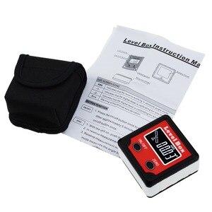 Image 2 - Digital Level Angle Finder Bevel Box Magnetic Base 360deg (4 x 90deg) Inclinometer Protractor Gauge Tilt Direction Indicator