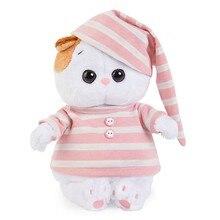 Мягкая игрушка Budi Basa Кошечка Ли-Ли Baby в полосатой пижаме, 20 см