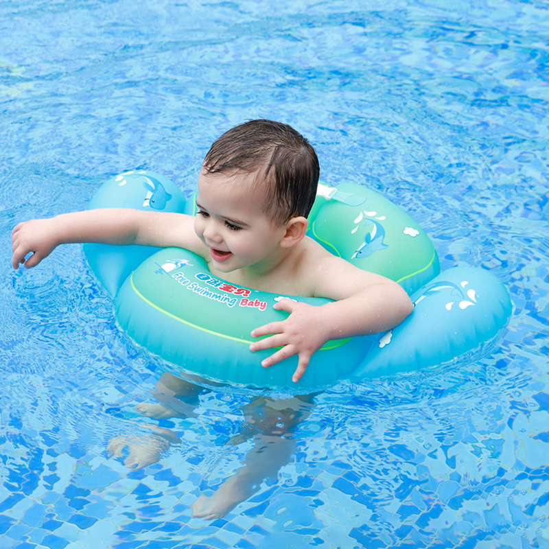New Baby Ring Float Inflatable Infant Swim Waist Ring Kids Swimming Pool Accessories Circle Raft Pool Inflatable Toys