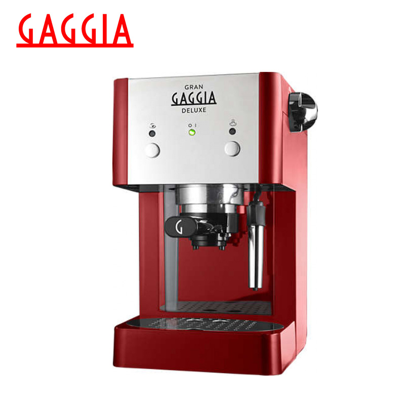 цены на Coffee Maker Gaggia Gran Deluxe Red в интернет-магазинах