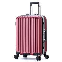Enfant Bag Cabin Maleta Cabina Con Ruedas Aluminum Alloy Frame Trolley Mala Viagem Valiz Carro Suitcase Luggage 202224inch